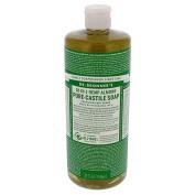 Dr. Bronner's Magic Soaps 18‑in‑1 Hemp Almond Pure‑Castile Soap 950ml (Pack of 2) +