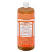 Dr. Bronner's 18‑In‑1 Hemp Tea Tree Pure‑Castile Soap 950ml (Pack of 2) +