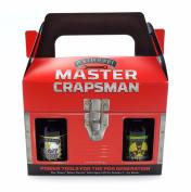 Poo-Pourri Master Crapsman Tool Box Toilet Spray Gift Set, 2 - 60ml Bottles