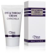 Dinur Cosmetics CHINCHILLA Eye & Throat Cream 1.7 oz. 50 ml.