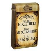 Lillie May Naturals Moonshine in a Mason Jar Scarlett Organic Goat Milk Soap