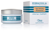Dinur Cosmetics HYDRACTIVE 24 Age Defying Moisturiser 2 oz. 55 ml.