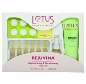 Lotus Herbals Professional Professional Rejuvina - Rejuvenating And De-Stressing Facial Kit