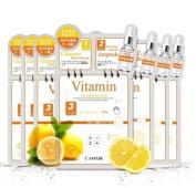 L'AFFAIR Rainbow 3-Step Skin Renewal Mask (Vitamin) 10pcs