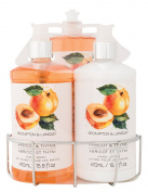 Brompton & Langley Apricot Thyme Kitchen Caddy Set