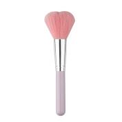 Mosunx(TM) 1 PC Cosmetic Foundation Heart Shape Face Powder Brush