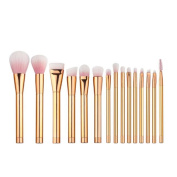Mosunx(TM) 15PCS Cosmetic/ Eyeshadow Makeup Brush