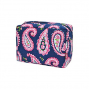 Paisley Print NGIL Large Cosmetic Travel Pouch