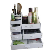 GAMT large capacity cosmetic four layer storage box