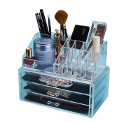 GAMT Acrylic Makeup Cosmetic Organiser Storage Drawers Display Boxes Case