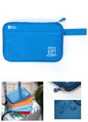 Passort Travel wallet Man and Woman / Passort cover case / Passport Holder Organiser Money Case man and woman Waterproof Travel Wallet Purse Document Organiser-Blue Light