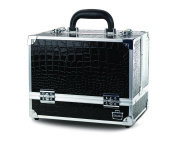 Caboodles Tres Chic 6 Tray Train Case, Black Diamond, 2.2kg