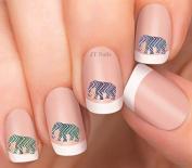Elephant Design #13 Nail Art Decals
