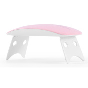UVLED Nail Lamp 6W LED UV Nail Dryer Mouse shape pink
