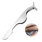 10pcs Stainless Steel Eyelash Curler Silver