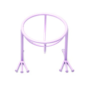 Gracefulvara Blender Sponge Stand Holder,Flawless Blending Sponge Organiser Makeup Tool Light Purple