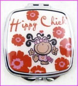 Hippy Chick Make-Up Compact Mirror by Instant Gifts International