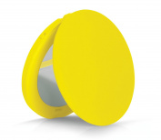 Violife LED Travel Compact Magnifying Mirror, Yellow Lemonade, 110ml