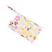 Colourful Baby Toddler Waterproof Wet Dry Bag Cloth Nappy Reusable Nappy Bag