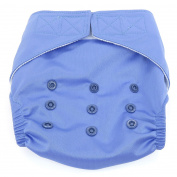 Dandelion Nappies Nappy Cover Shell with Hook and Loop- One Size - Periwinkle