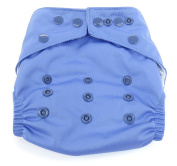 Dandelion Nappies Nappy Cover Shell with Snaps- One Size - Periwinkle
