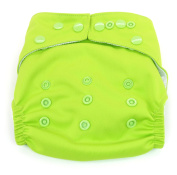 Dandelion Nappies Nappy Cover Shell with Snaps- One Size - Kiwifruit