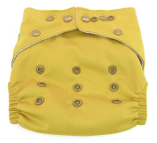 Dandelion Nappies Nappy Cover Shell with Snaps- One Size - Parsnip