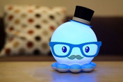 Lamp Lovely Octopus Cartoon Crative Usb Charging Led Gift For Your Girl Friend Hih Quality
