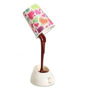 VALINK Novelty DIY USB 8 LED bulbs Night Lights Coffee Cup Mug Lamp Light Energy Saving Decoration Lighting Home Desk Table Lamp