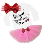 G & G - Cute Baby Girl First Valentines Day Coming Home Tutu Outfit