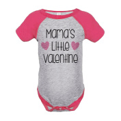 Custom Party Shop Girl's Mama's Little Valentine's Day Pink Onepiece