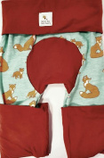 Maxaloones, Baby & Toddler Pants, Grow With Me Pants, Fox Family