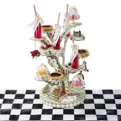 Alice in Wonderland Party Cupcake Stand Tree Shaped