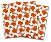 WraptorSkinz Vinyl Craft Cutter Designer 12x12 Sheets Boxed Burnt Orange - 2 Pack