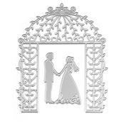Hunulu Bride Groom Wedding Die Cutting Dies Stencils DIY Scrapbooking Card Paper Craft