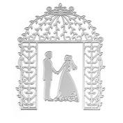 Hunulu Bride Groom Wedding Die Cutting Dies Stencils DIY Scrapbooking Card Paper Craft