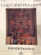 Log Cabin Bouquet Quilt Pattern 150cm square 50cm blocks