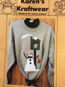 Karen's Kraftwear Applique for Clothing or Quilt - Snow is For the Birds