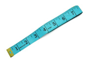 BUMOS Soft Tape Measure 60 Inch/150 cm Soft Cloth for Sewing Tailor Cloth Ruler Width 2 cm, Green