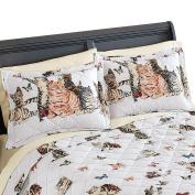 Playful Cats And Butterflies Pillow Sham