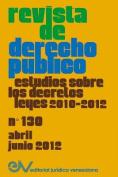 Revista de Derecho Publico (Venezuela), No. 130, Abril-Junio 2012 [Spanish]