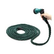 Deluxe 25 50 75 30m Expandable Flexible Garden Water Hose w/ Spray Nozzle Buyer's Choice