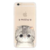 iPhone 7 Plus Case, Axiba Cute Pet Cat Pattern Soft TPU Carring Case Protect Cover for iPhone 7 Plus 14cm