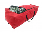 "POLR Super Large Rolling Christmas Tree Storage Duffel Bag, w/ Premium Stitching, Rip-Stop Design for rugged Durability, Super Easy Rolling Wheels, Fits up to 2.7m Artificial Trees, 59""x27""x24"""