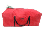 "POLR Super Large Christmas Tree Storage Duffel Bag, with Premium Quality Stitching, Rip-Stop Design for rugged Durability, Fits up to 2.7m Artificial Trees, 59""x27""x24"""