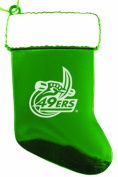 University of North Carolina at Charlotte - Chirstmas Holiday Stocking Ornament - Green