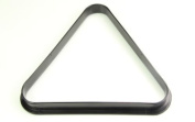 """Other 2 1/16"""""""" Inch (52.5Mm) 15 Ball Black Plastic Full Size Snooker Ball Triangle"""