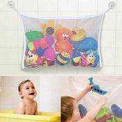 Baby Bath Toy Tidy Storage Hanging Bag Mesh Bathroom Organiser