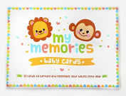 My Memories Baby Cards, 30 Milestone Record Cards to Capture your Baby's Special Moments