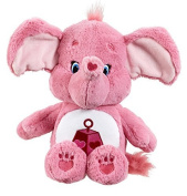 Vivid Imaginations Care Bears Cousins Lotsa Heart Elephant Plush Toy with DVD (Medium, Multi-Colour) by Vivid Imaginations